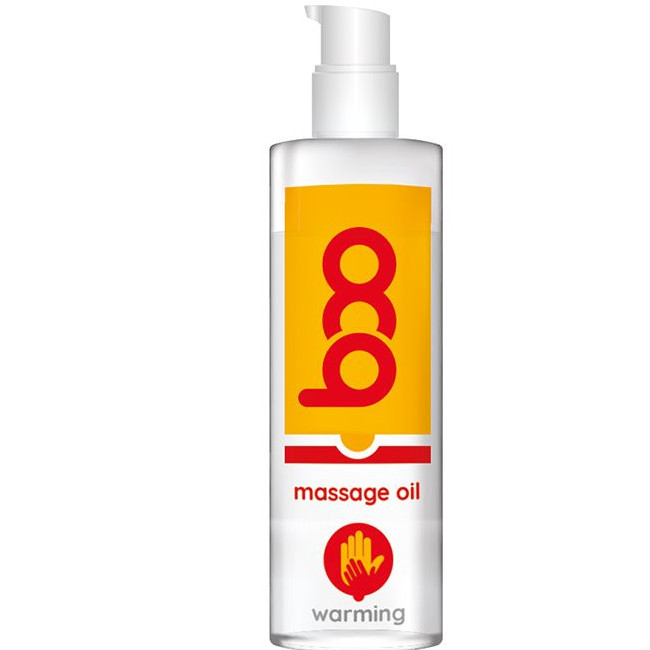 BOO MASSAGE OIL WARMING 150ML