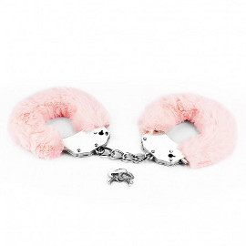LOVETOY FETISH FLUFFY HANDCUFF PINK