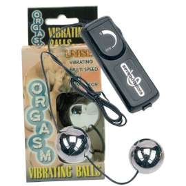 ORGASM VIBRATING BALL SILVER